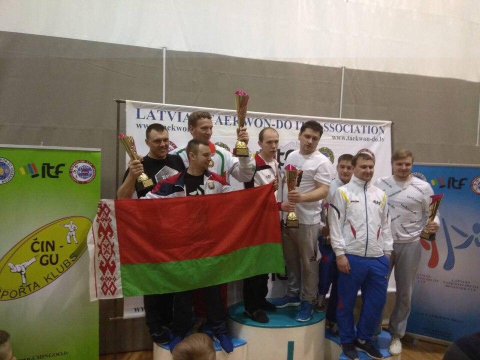 Первое место в общем зачете «LATVIAN TAEKWON-DO ITF CUP 2018»