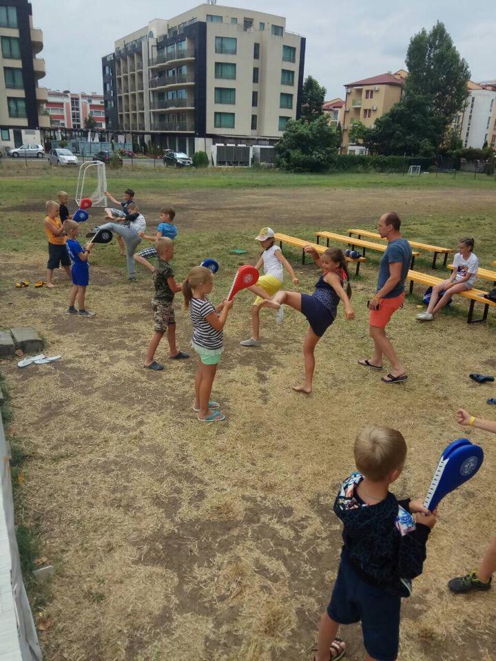 Детский оздоровительный лагерь в Болгарии