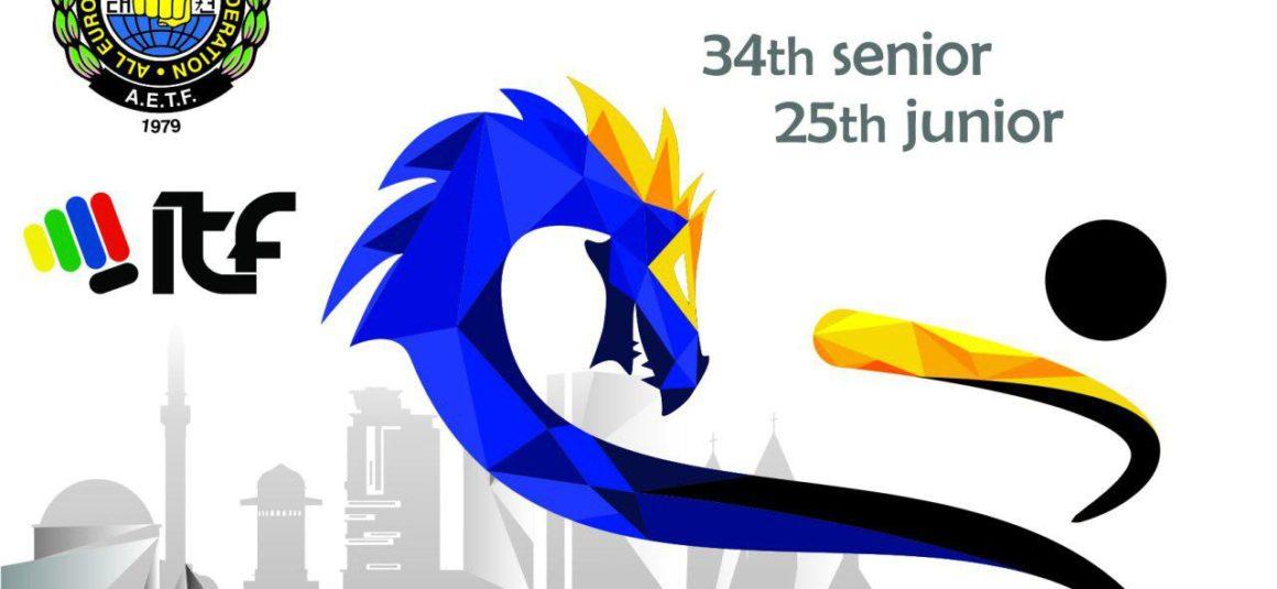 34-й среди взрослых и 25-й среди юниоров Чемпионат Европы по таэквон-до